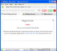 RSkype Recorder screenshot